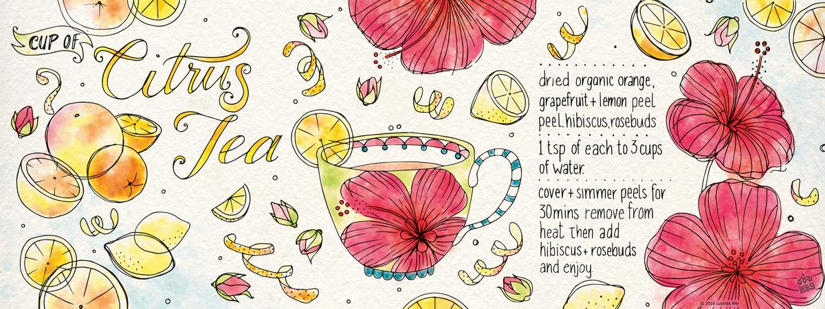 Lucindawei citrustea recipe