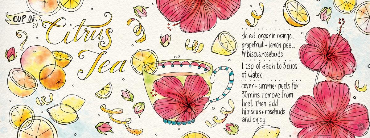 Lucindawei citrustea recipe2