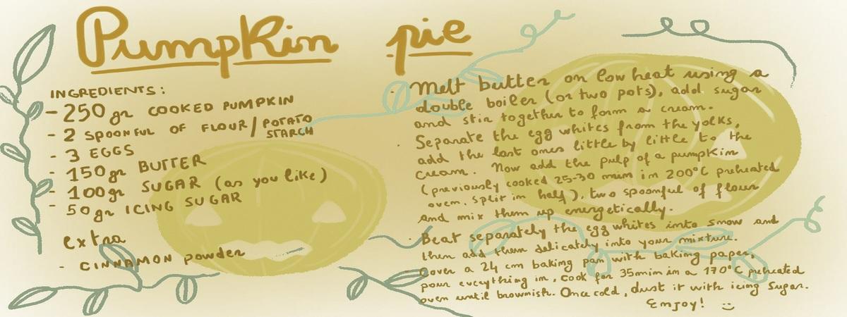 Pumpiking pie