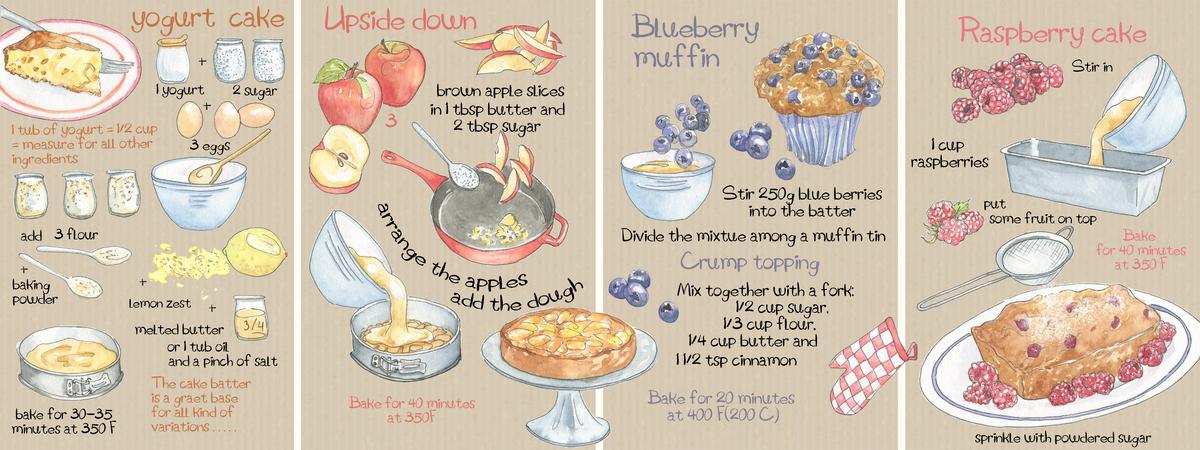 Yogurt cake suzanne de nies