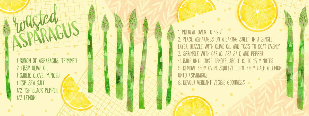 Roasted asparagus recipe high res