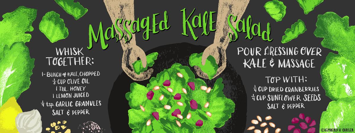 Kimberlykcarter massagedkalesalad