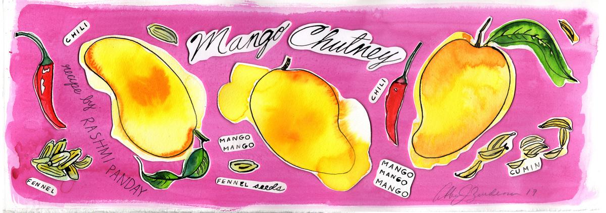 Tdac mango chutney