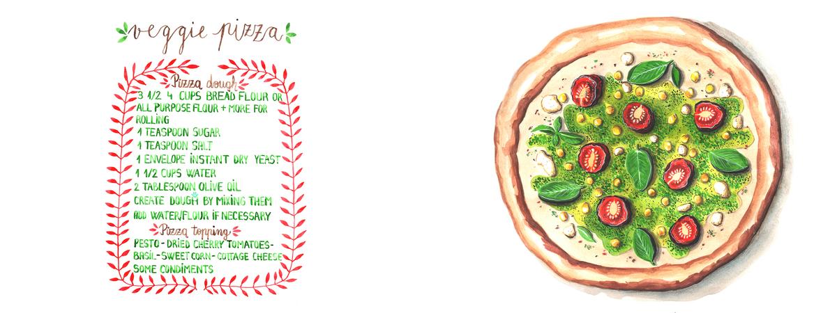 Veggie pizza   jean balogh