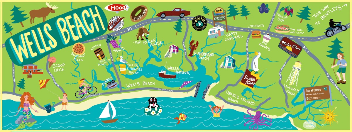Wells map