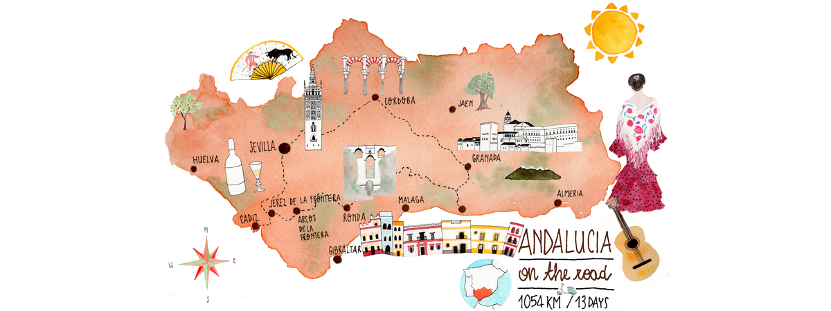 Andalucia road trip