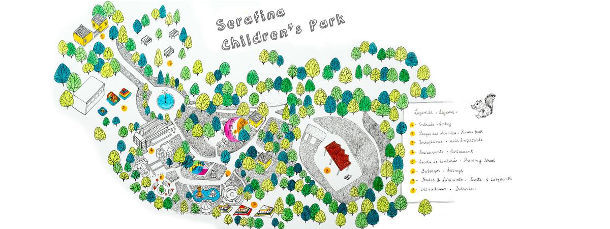 Mapa tdat serafina