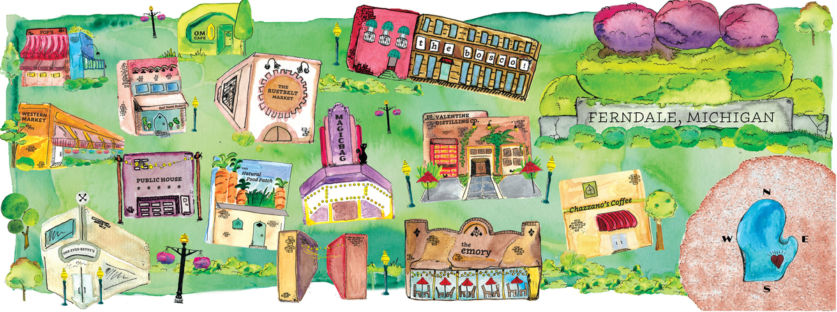 Fab ferndale map