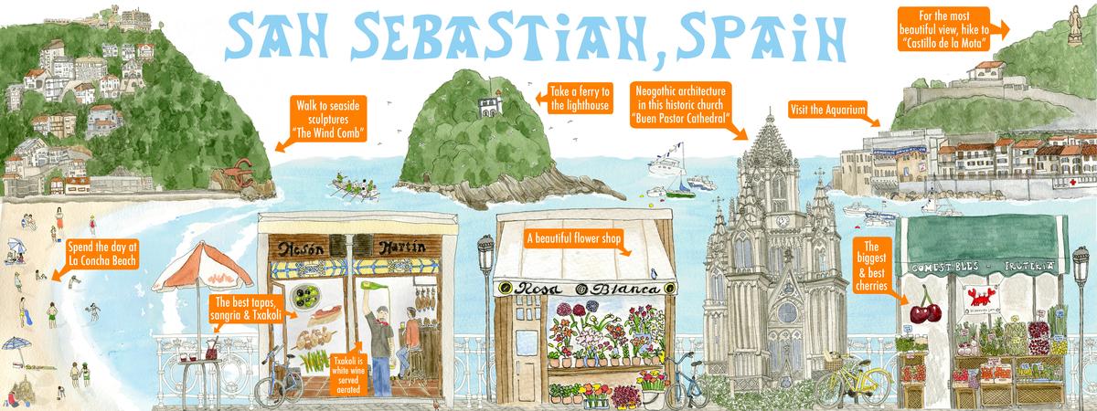 San sebastian spain 300