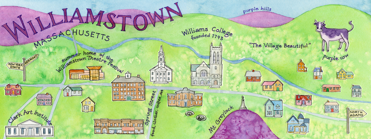 Kolesar wtown map