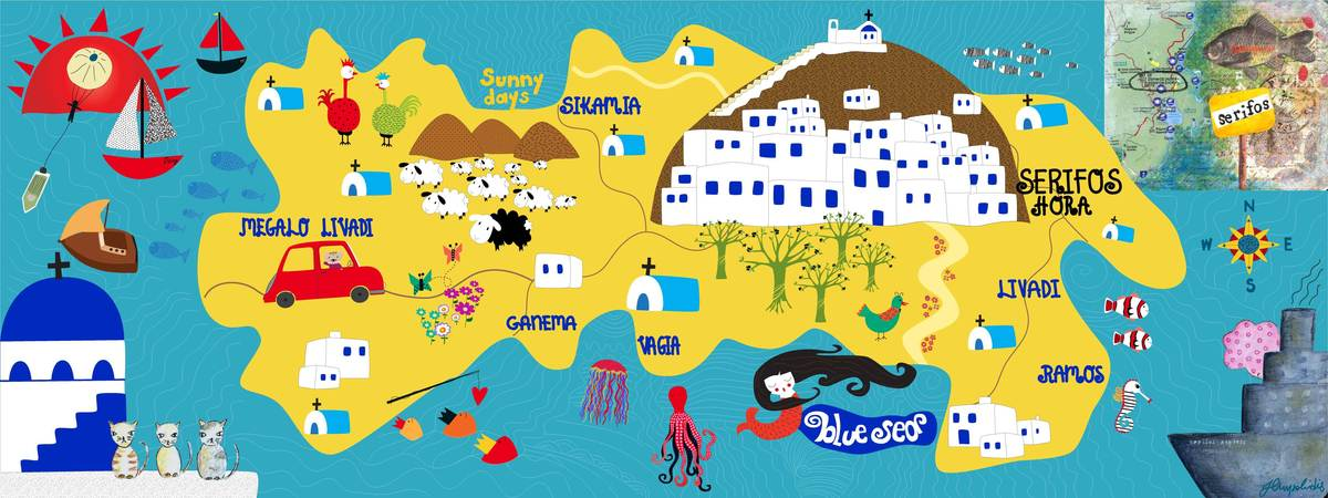 Serifos they draw and travel map.jpg