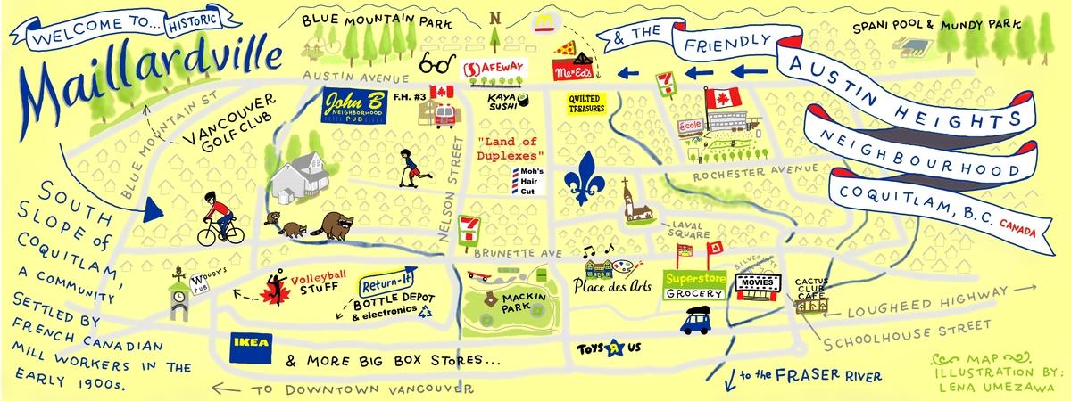 Lena umezawa maillardville map