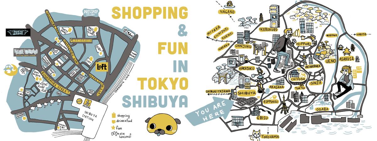 Mappa shibuya