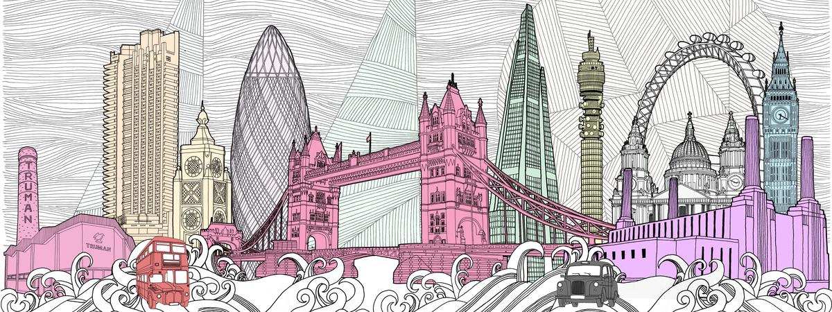 V7 london skyline