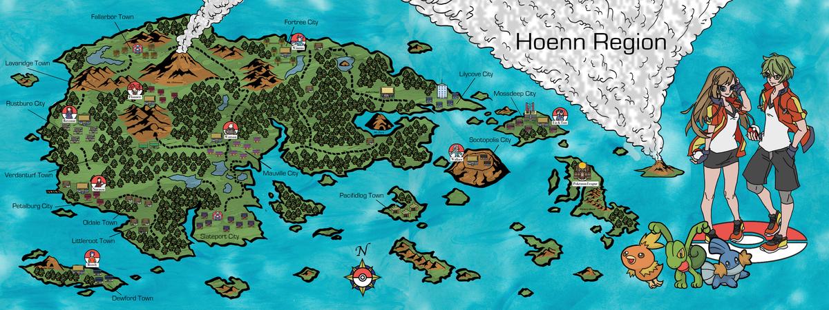 Delap map