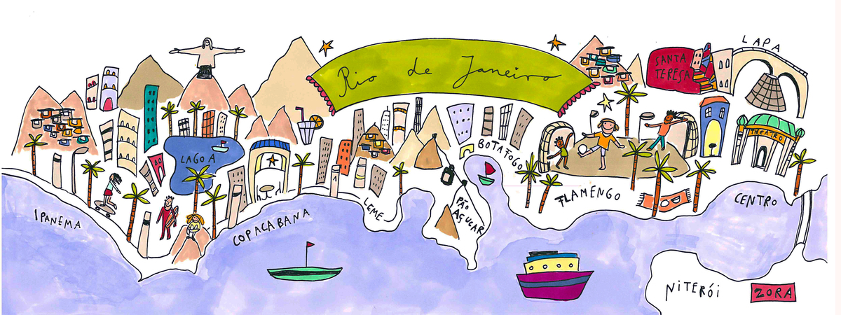 Rio de janeiro map 1