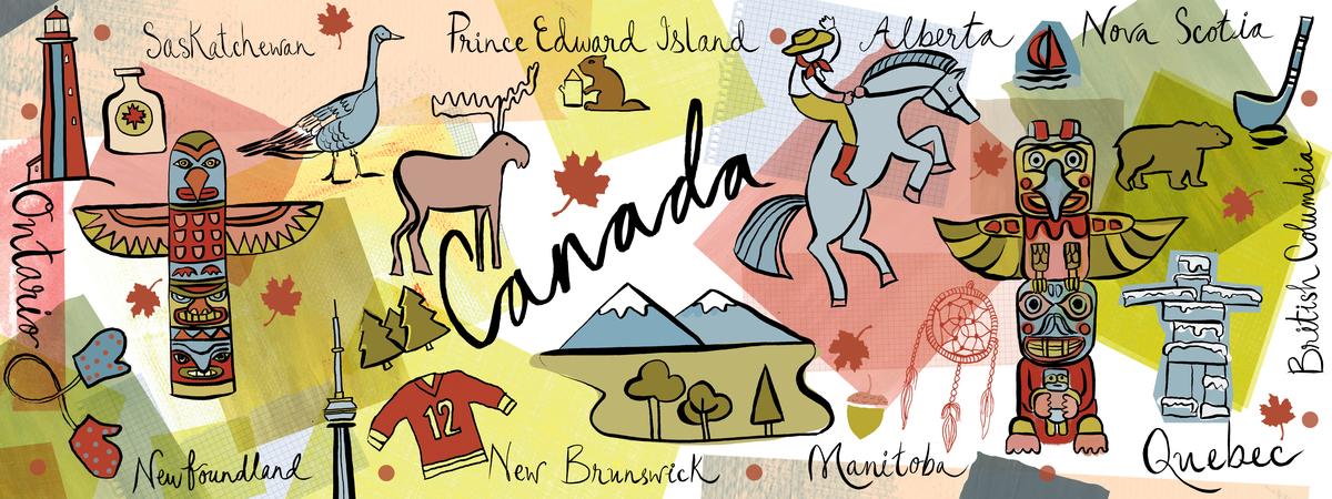 Canada map tdat