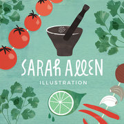 Sarah allen illustrator for hire