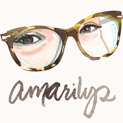 Amarilys just glasses sm profile