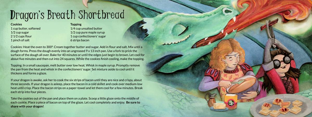 Elizabeth goss dragon shortbread