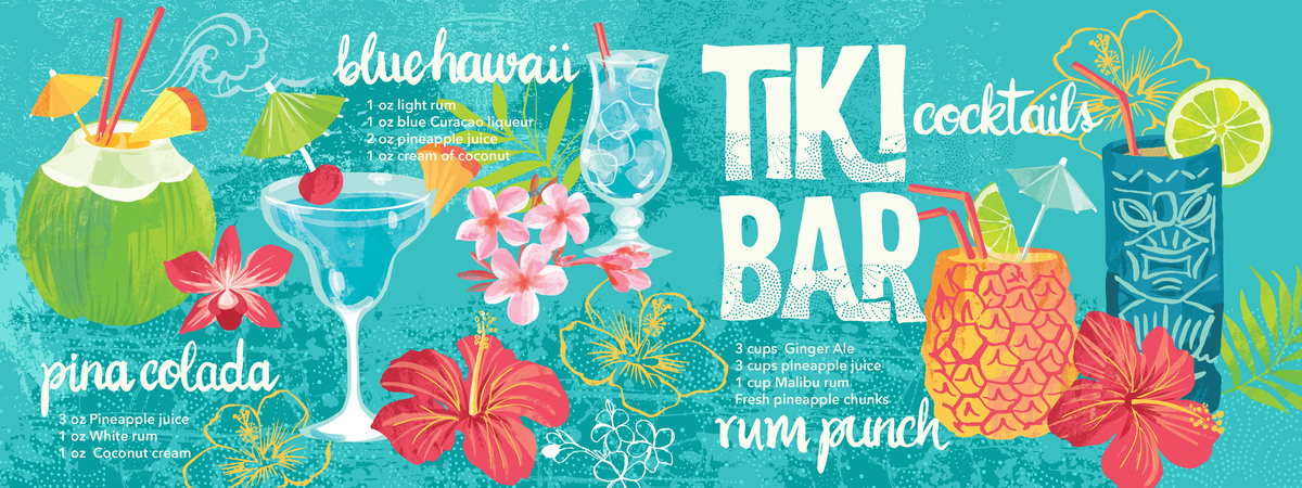 Hawaii cocktails layout 01
