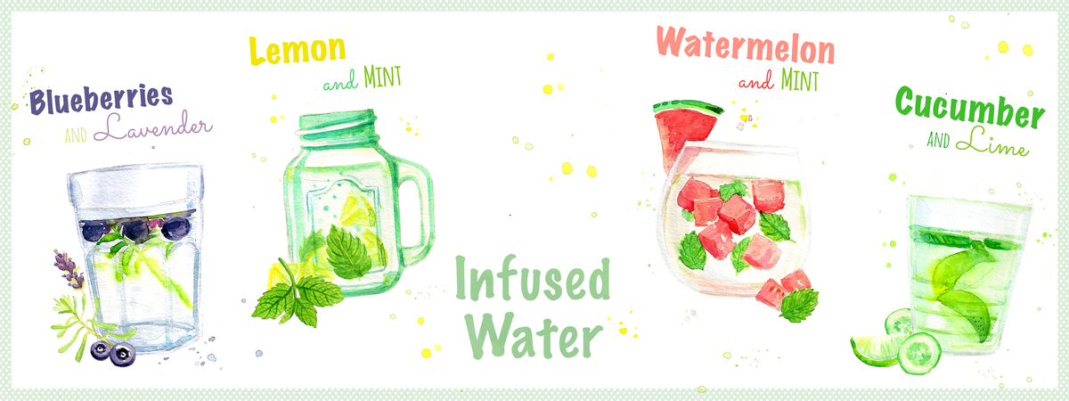 Infused water quer