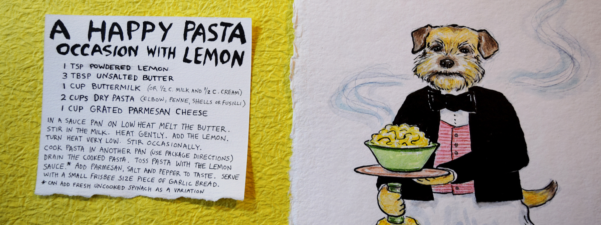 Ahappypastaoccasionwithlemon