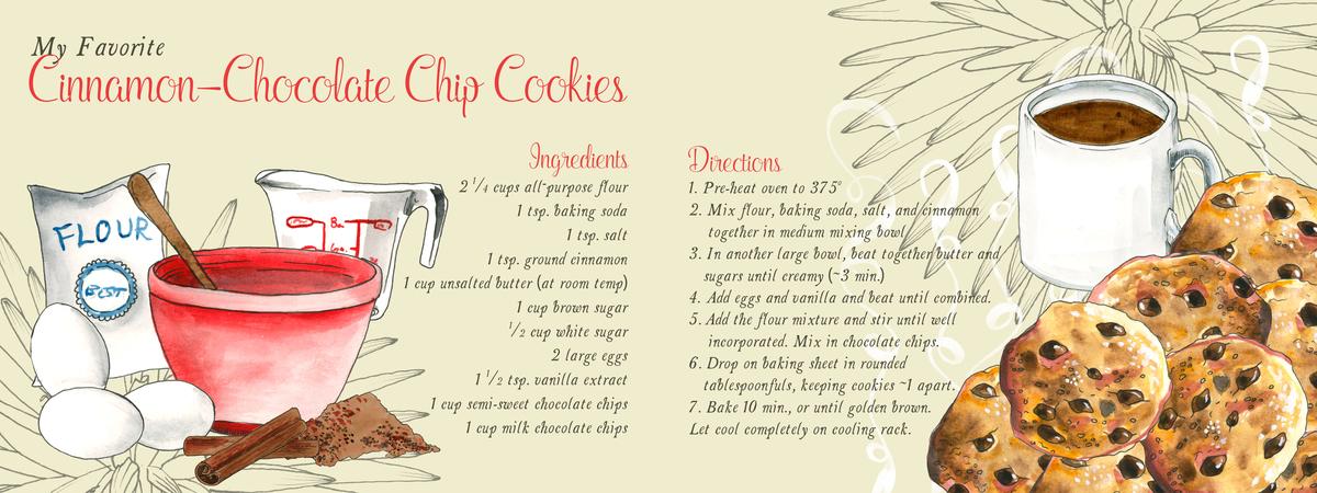 Cinnamon choc chip