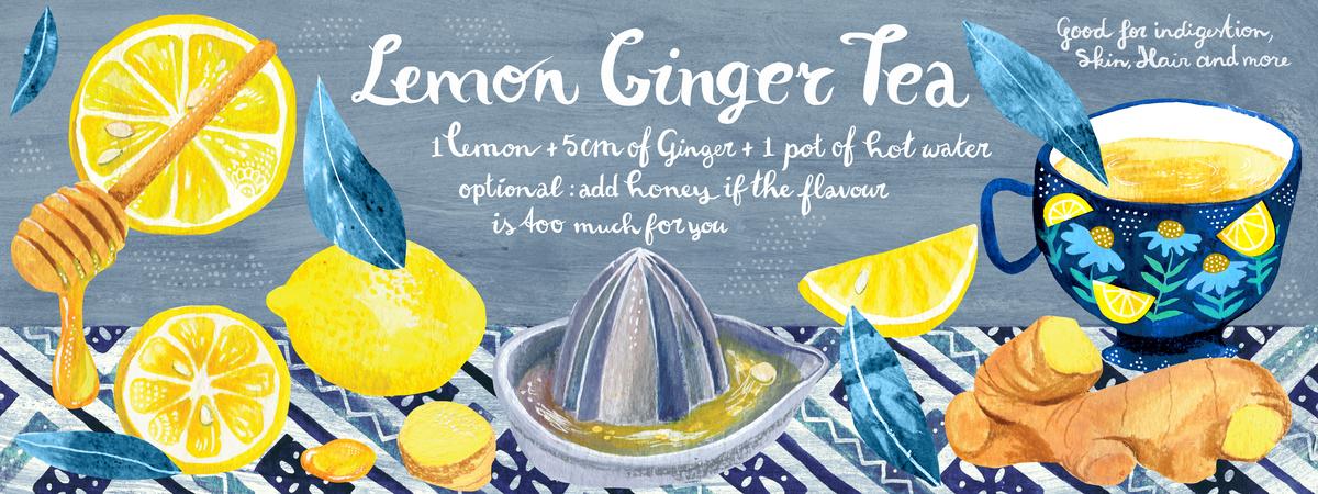 Tdac lemon ginger tea