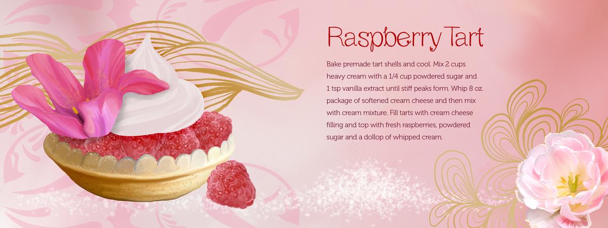 Raspberrytart recipe