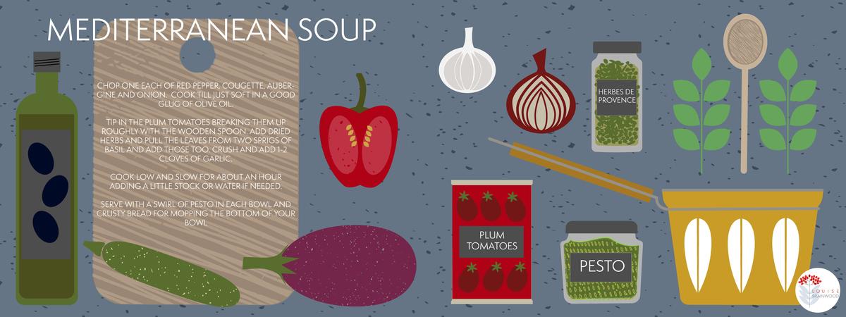 Mediterranean soup tdac louisebrainwood