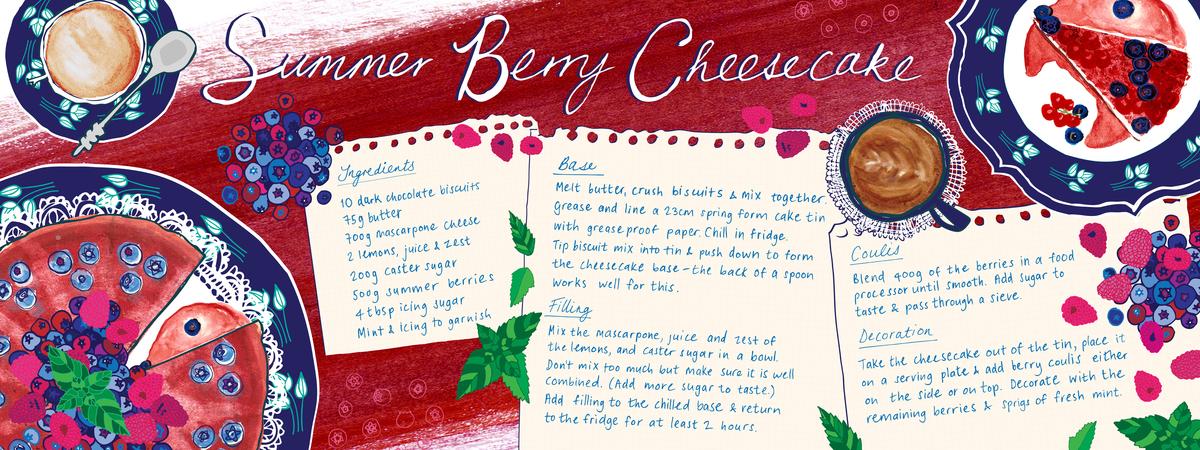 Ilze vanderpoll tdac berrycheesecake