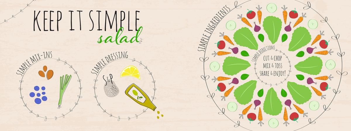 Keep it simple salad 2