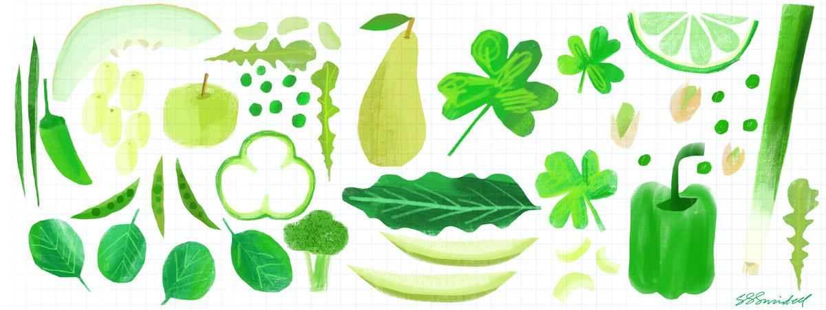 Lucky greens 01