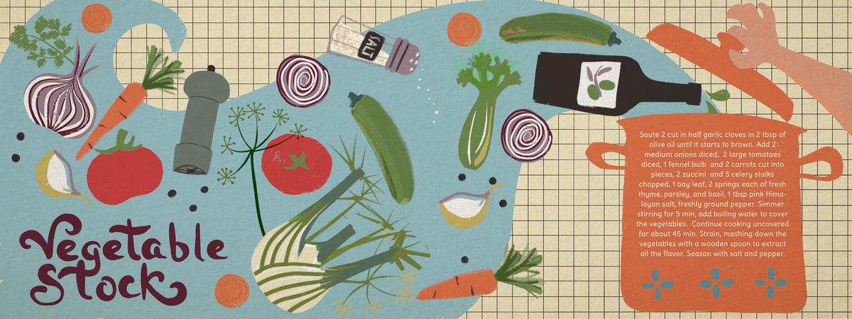 Vegetable stock illustrated recipe alisa bloom
