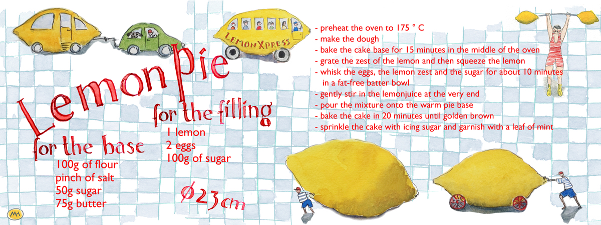 Lemon pie machteld hardick