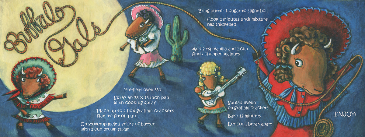 Buffalo gals cookie recipe
