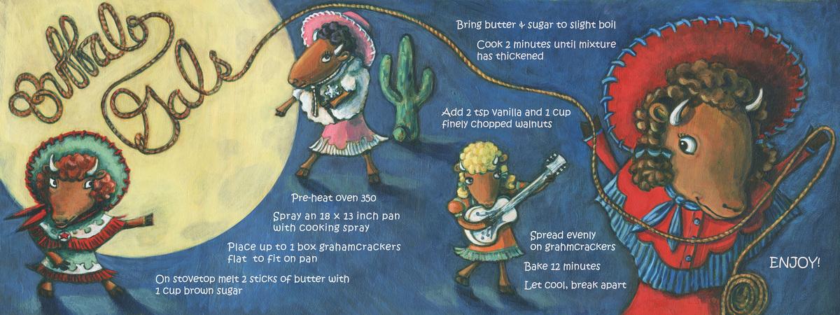Buffalo gals  cookie recipe