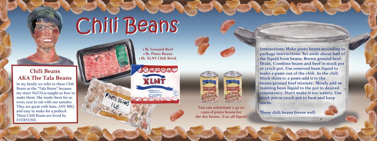 Lydia velarde chili beans