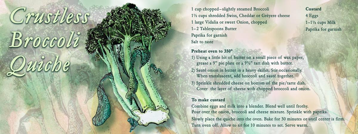 Crustless broccoli v4