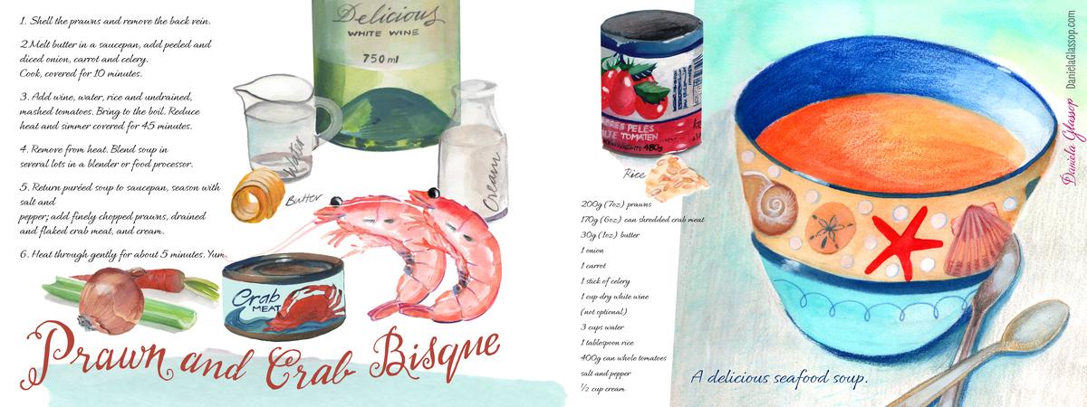 Crab and prawn bisque recipe danielaglassop