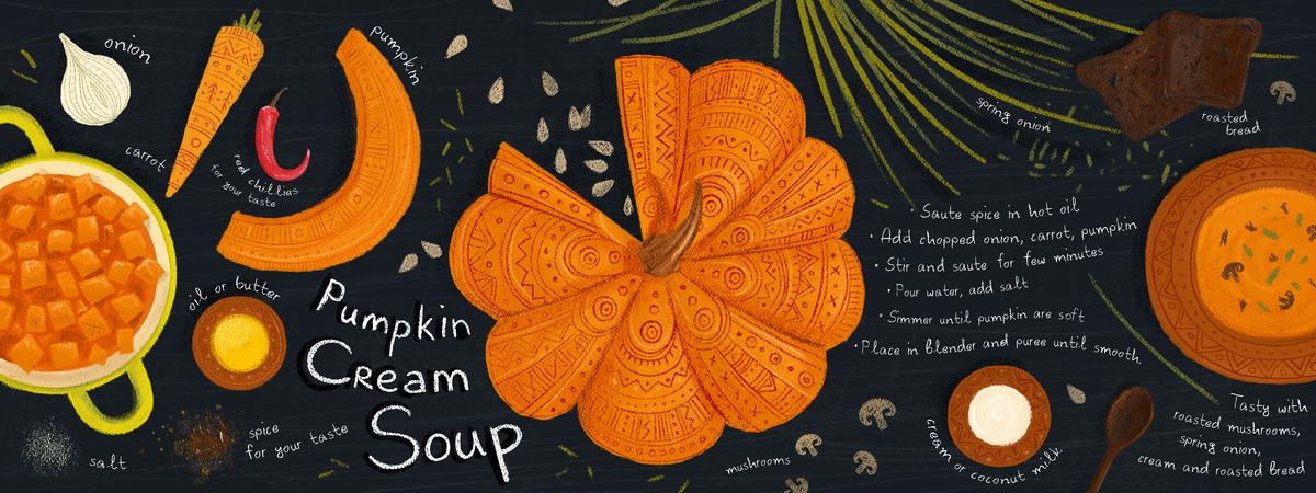 Tdac pumpkin soup f