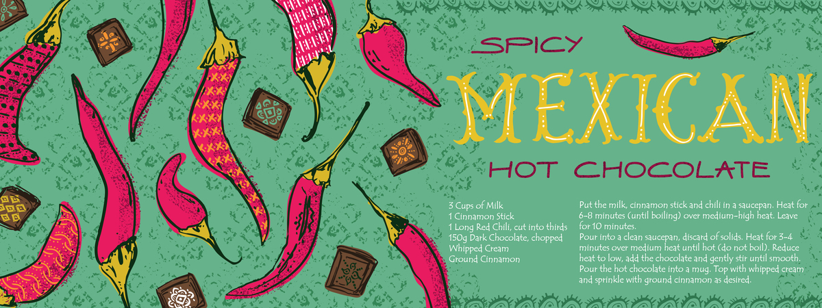 Spicy mexican hot chocolate by noa ambar regev