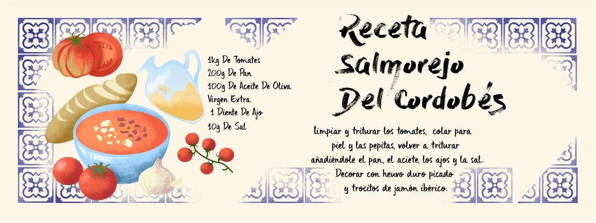 Salmorejo recipe page