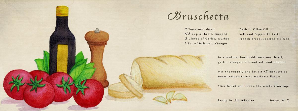 Bruschetta dhughes