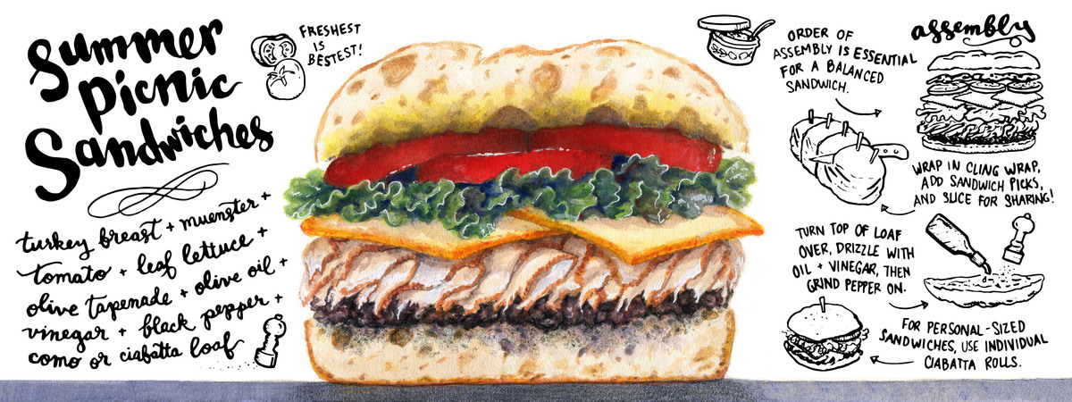 Tdac summer picnic sandwich