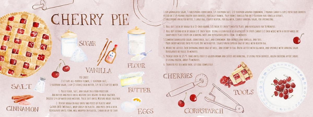 Cherrypie recipe