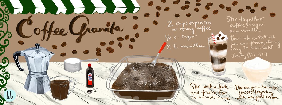 Coffee granita tdac