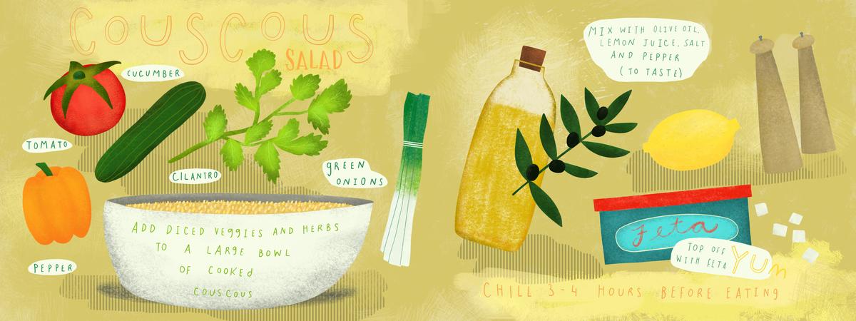 Sam pernoski couscous salad ffs18