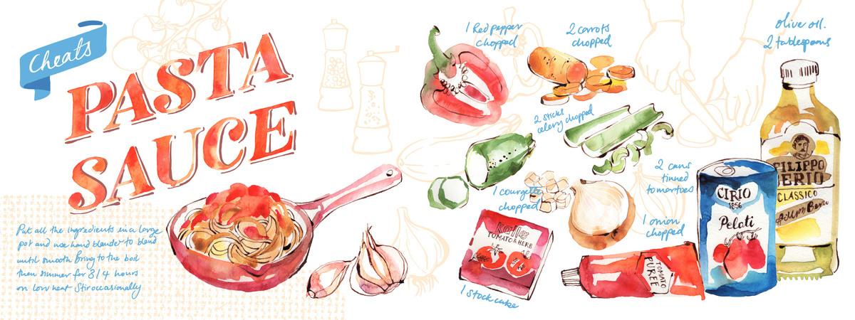 Pasta sauce layout 01